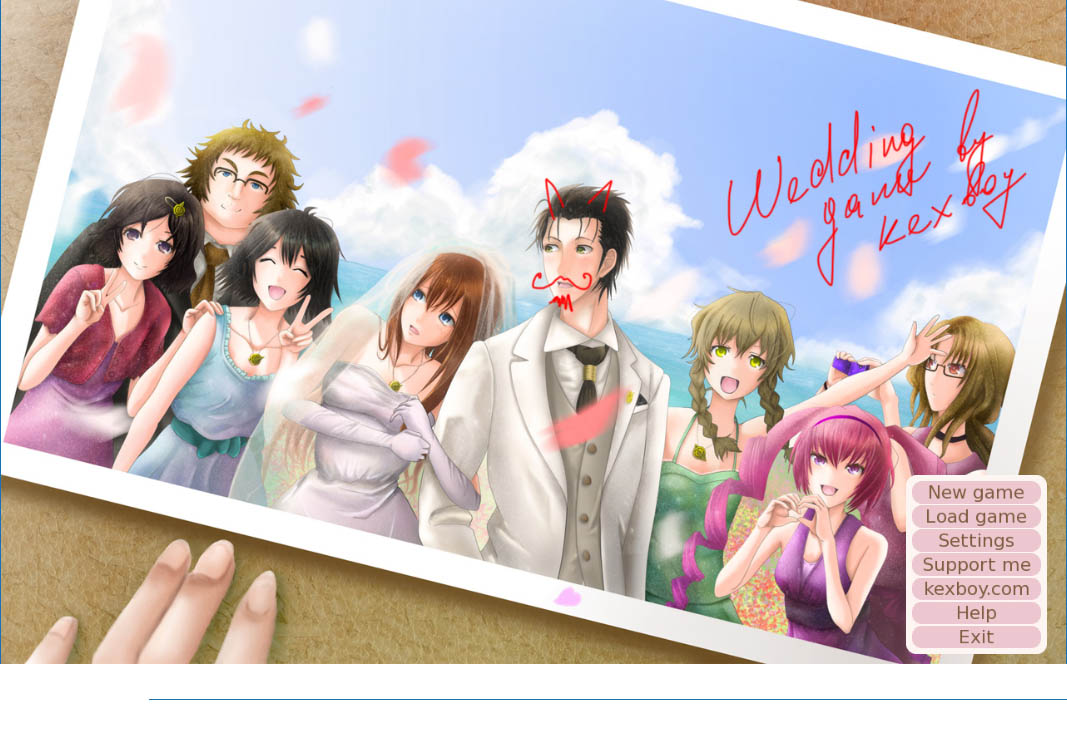 KEXBOY - WEDDING VERSION 1.02