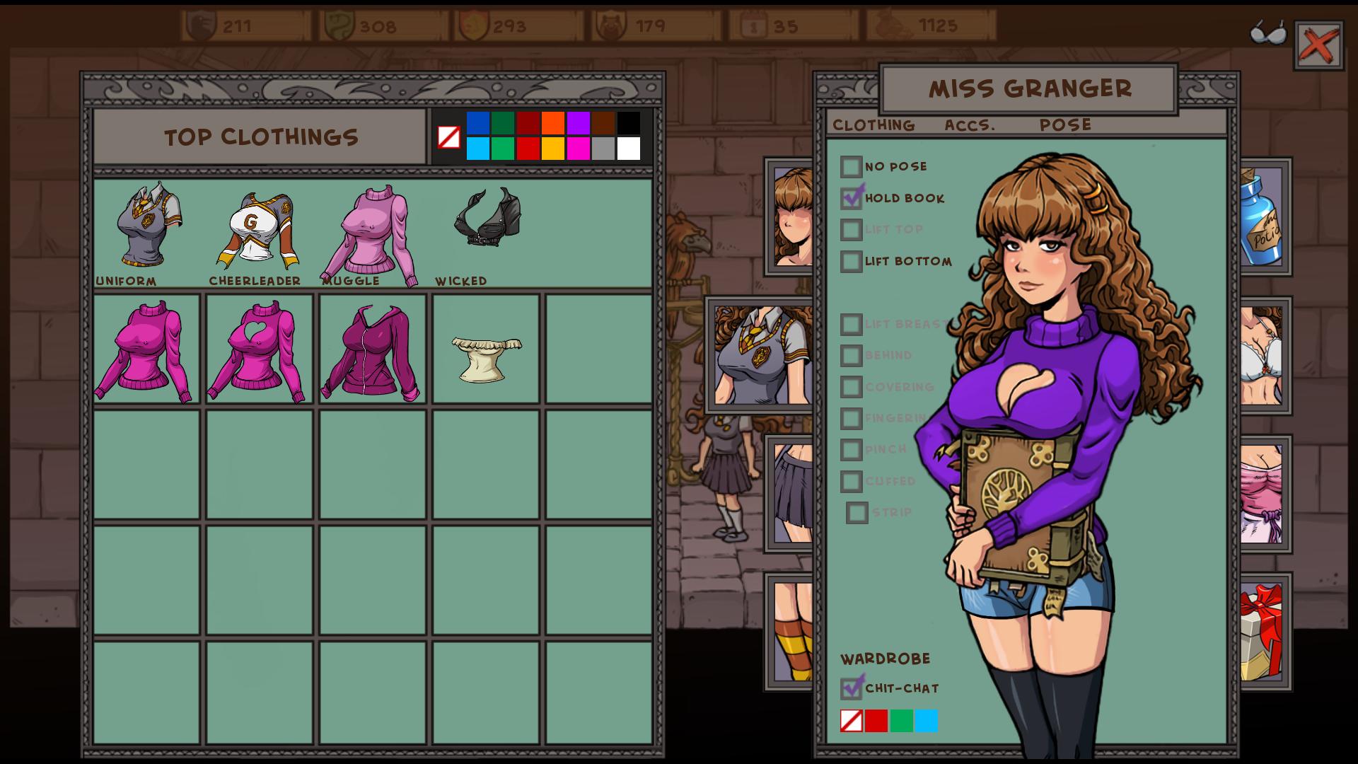 Witch trainer mods