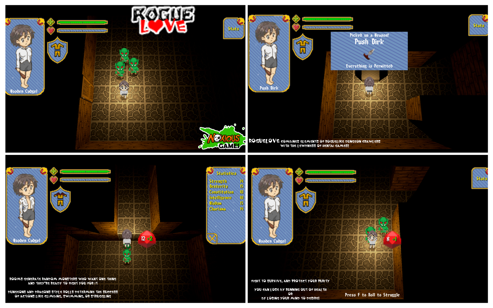 TeamH Adult Content: RougeLove [v0.1 Demo] [Noxious Games ...